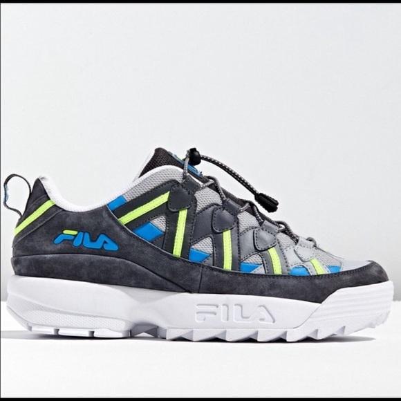 New Fila Spaghetti Trail Sneaker NWT